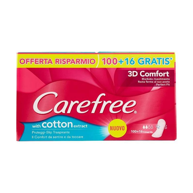 Carefree with cotton...